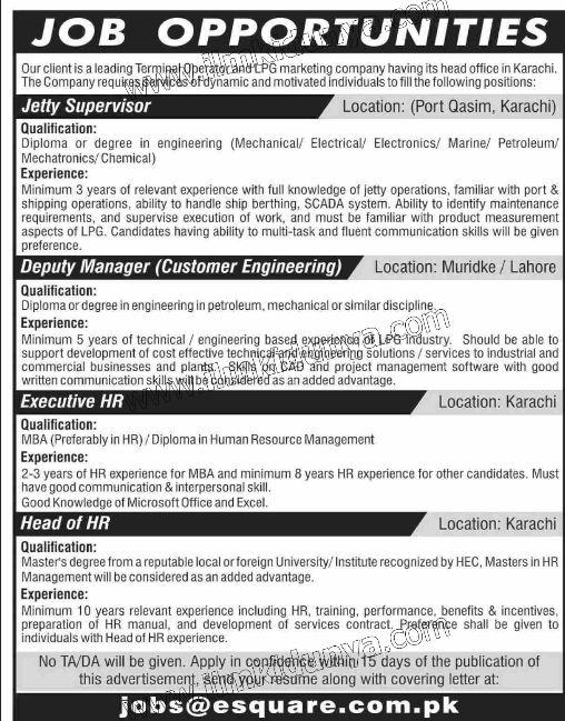 Paper pk jobs today